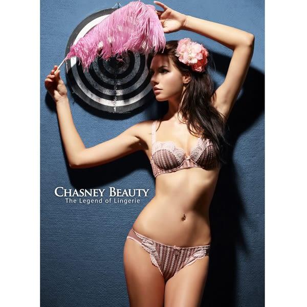 Chasney Beauty-sogno立體S-L蕾絲圓形丁褲(芋粉)