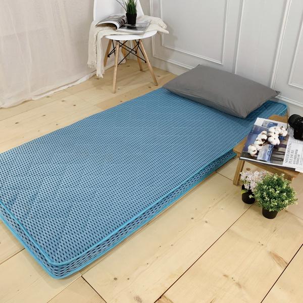 藍鑽級遠紅外線竹炭棉恆溫透氣床墊(雙人5尺)