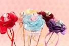 一定要幸福哦~~小熊玫瑰花棒,婚禮小物、結婚宴客、二次進場