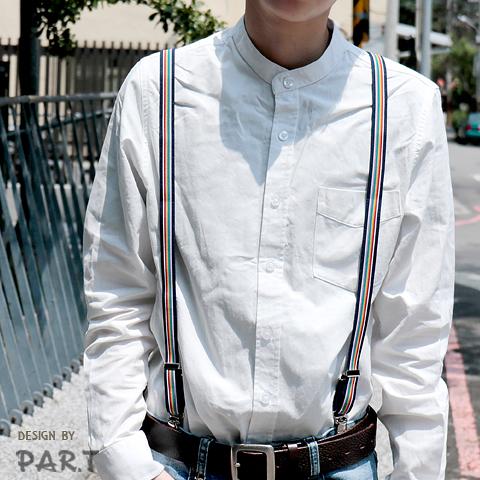 【PAR.T】彩虹文創小物/造型配件/彩虹穿搭-六彩俏皮彈性吊帶