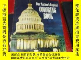 二手書博民逛書店our罕見nation s capital coloring b