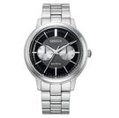 CITIZEN 星辰 光動能 BU4030-91E 手錶 黑/39.5mm