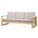 【藝匠】大雪山檜木參人沙發椅  實木沙發  原木 客廳 沙發椅(不含坐墊)