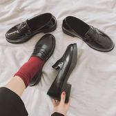小皮鞋女英倫2019新款黑色日系jk韓版百搭秋季學生森女系瑪麗珍鞋