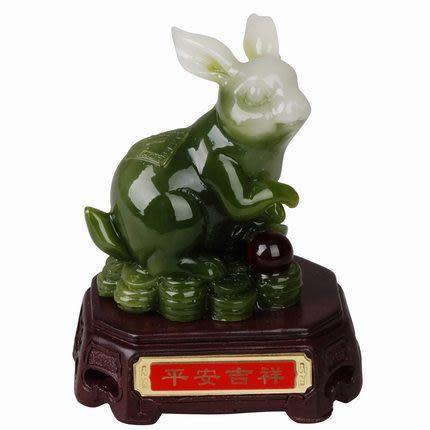 12生肖風水擺件吉祥物 虎威(綠色)