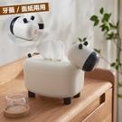收小牛面紙盒 牙籤罐 創意飾品 客廳 廚...