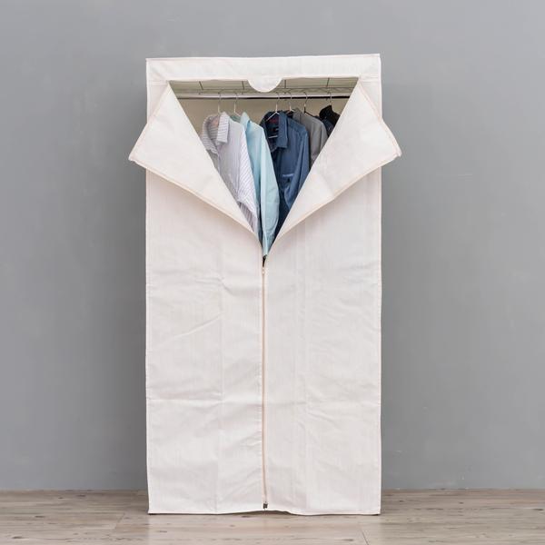 防塵布套/衣櫥布套/布套【配件類】90x45x180公分 可水洗竹節米色布套  dayneeds