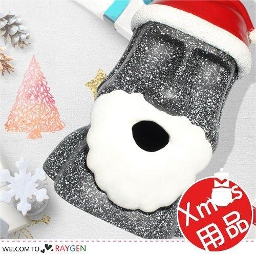 聖誕造型摩艾石像站立式紙巾盒 客廳擺飾
