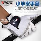 PGM 高爾夫球手套 男士羊皮手套 單只 透氣防滑 有雙手