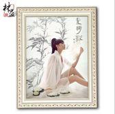 實木相框掛墻歐式a4 7 12 16 24 48寸婚紗照相框創意擺台畫框定做【現貨清倉大促銷】
