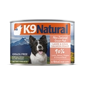 【K9 Natural 】狗狗鮮燉主食罐 羊肉+鮭魚 170g (狗罐頭 濕食)