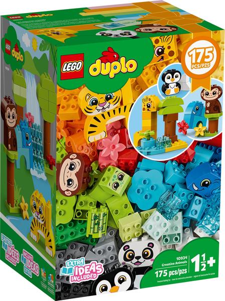 【愛吾兒】LEGO 樂高 duplo得寶系列 10934 創意動物群
