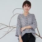 【慢。生活】復古花草薄棉襯衫 7223-...
