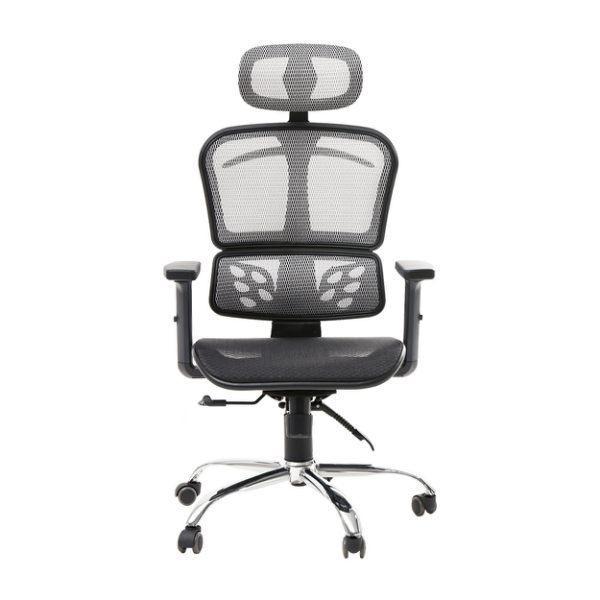 辦公椅 書桌椅 電腦椅【I0287】喬丹高機能透氣全網鐵腳辦公椅 MIT台灣製 收納專科