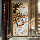 40*80cm數字油畫手繪填色中國風玄關畫填充畫畫裝飾畫【時尚大衣廚】
