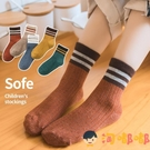 兒童襪子純棉春秋加厚中筒男女童寶寶中大童【淘嘟嘟】