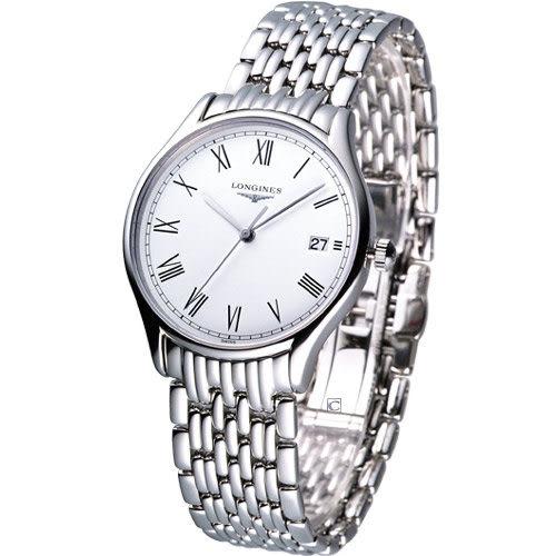 L47594116 浪琴錶 LONGINES 琴韻系列 男用石英腕錶