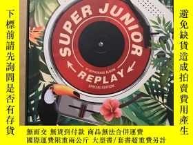 二手書博民逛書店REPLAY(韓國流行男團Super罕見Junior第八張正規專