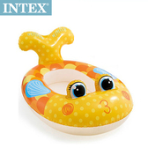 INTEX兒童造型游泳圈-車子/飛機/魚 適用3~6歲(59380)魚