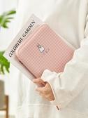 大容量韓國帆布筆袋簡約小清新大學生鉛筆袋創意多功能手帳包便攜旅行拉鍊收納包