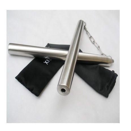 【帶棍套】絢雷2號不銹鋼雙節棍420克