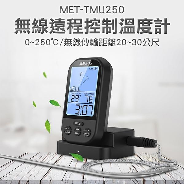 溫度警報器 烘焙器具 烘焙溫度計 廚房食品溫度計 牛排豬肉雞肉 溫度控制器 TMU250溫度監控