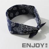 韓國簡約發飾 寬邊頭巾百搭蝴蝶結發帶發箍