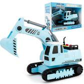全館83折兒童玩具車耐摔慣性工程車挖掘機仿真慣性挖土機汽車男孩模型玩具