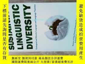 二手書博民逛書店Sustaining罕見Linguistic Diversity 瀕危和少數民族語言學原版 Y14610 Ki