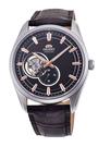 [Y21潮流精品] 新款!ORIENT 東方錶 SEMI-SKELETON系列 藍寶石鏤空機械錶 皮帶款 咖啡色-40.8mm RA-AR0005Y