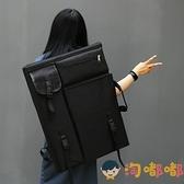 畫板包美術專用多功能寫生4k韓版便攜畫袋畫板大容量【淘嘟嘟】