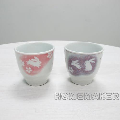 紫色玉兔茶杯_JK-13656