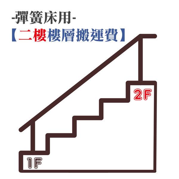 【2F - 樓層搬運費 / 彈簧床】