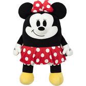 現貨 Hamee 日本 迪士尼 Mocchi Mocchi 細緻絨毛娃娃 療癒玩偶抱枕 (L號米妮) TA24747