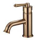 【麗室衛浴】國產創意造型 古典面盆龍頭 LS-8745 玫瑰金