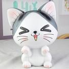 存錢筒 甜蜜小貓咪大號桌面裝飾擺件兒童女孩成人儲蓄存錢罐創意生日禮物