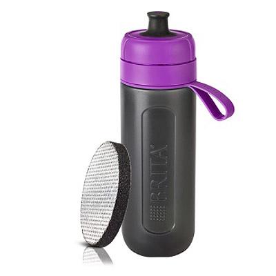 BRITA Fill&Go Active 運動濾水瓶 0.6L (紫色)