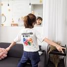 [超豐國際]夏裝寬松顯瘦可愛卡通字母短袖...