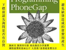 二手書博民逛書店20罕見Recipes For Programming PhonegapY256260 Jamie Munro