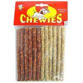 【 培菓平價寵物網】《CHEWIES》5吋雙色脆皮棒 (12支入)*1包