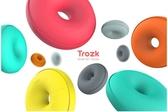 【保固一年 】特洛克/TROZK 甜甜圈 智能移動插座 旅行 多功能 USB 充電器 插座排旅行