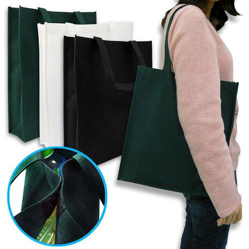【100個含1色印刷】 超聯捷 不織布袋 31x34x9 cm 購物袋 客製 宣導品 禮贈品 S1-01012-100
