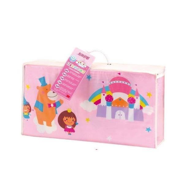 【贈OOPS可愛動物背包】3M-新絲舒眠兒童午安被睡袋/兒童睡袋(粉色) 2080元