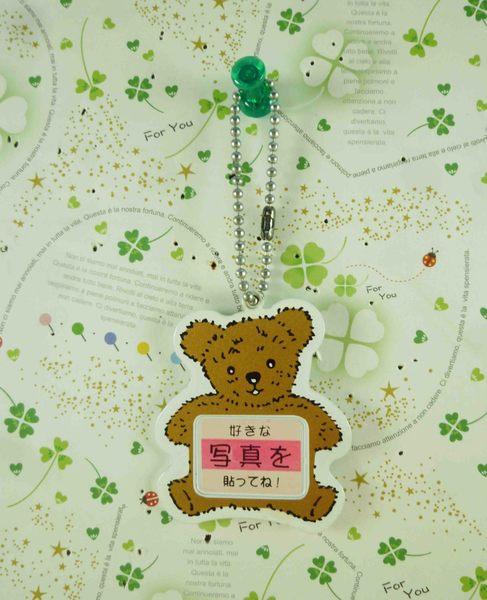 【震撼精品百貨】泰迪熊_Teddy Bear~造型相框鎖圈