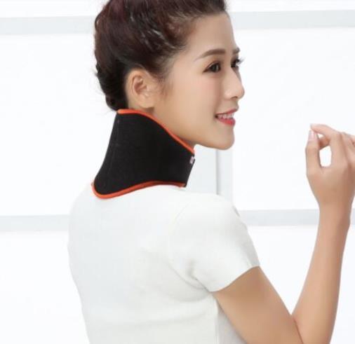 護肩帶 康舒護肩頸椎熱敷脖子套自發熱保暖頸托帶圍脖男女士中老年秋冬季 維多