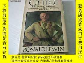 二手書博民逛書店THE罕見CHIEF RONALD LEWIN 1937-194