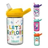 美國 CAMELBAK eddy+ 兒童吸管運動水瓶400ML RENEW(9款可選)兒童水壺