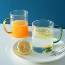 酒杯 玻璃杯帶把耐熱透明簡約大容量家用套裝喝水杯牛奶啤酒杯泡茶杯子【快速出貨八折下殺】
