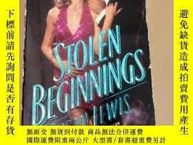 二手書博民逛書店STOLEN罕見BEGINNINGS 偷來的開端Y222470 SUSAN LEWIS 蘇珊•劉易斯 看圖