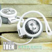 耳機 SM-IH850掛耳式頭戴式運動耳機跑步耳掛式單孔電腦手機耳麥 芭蕾朵朵